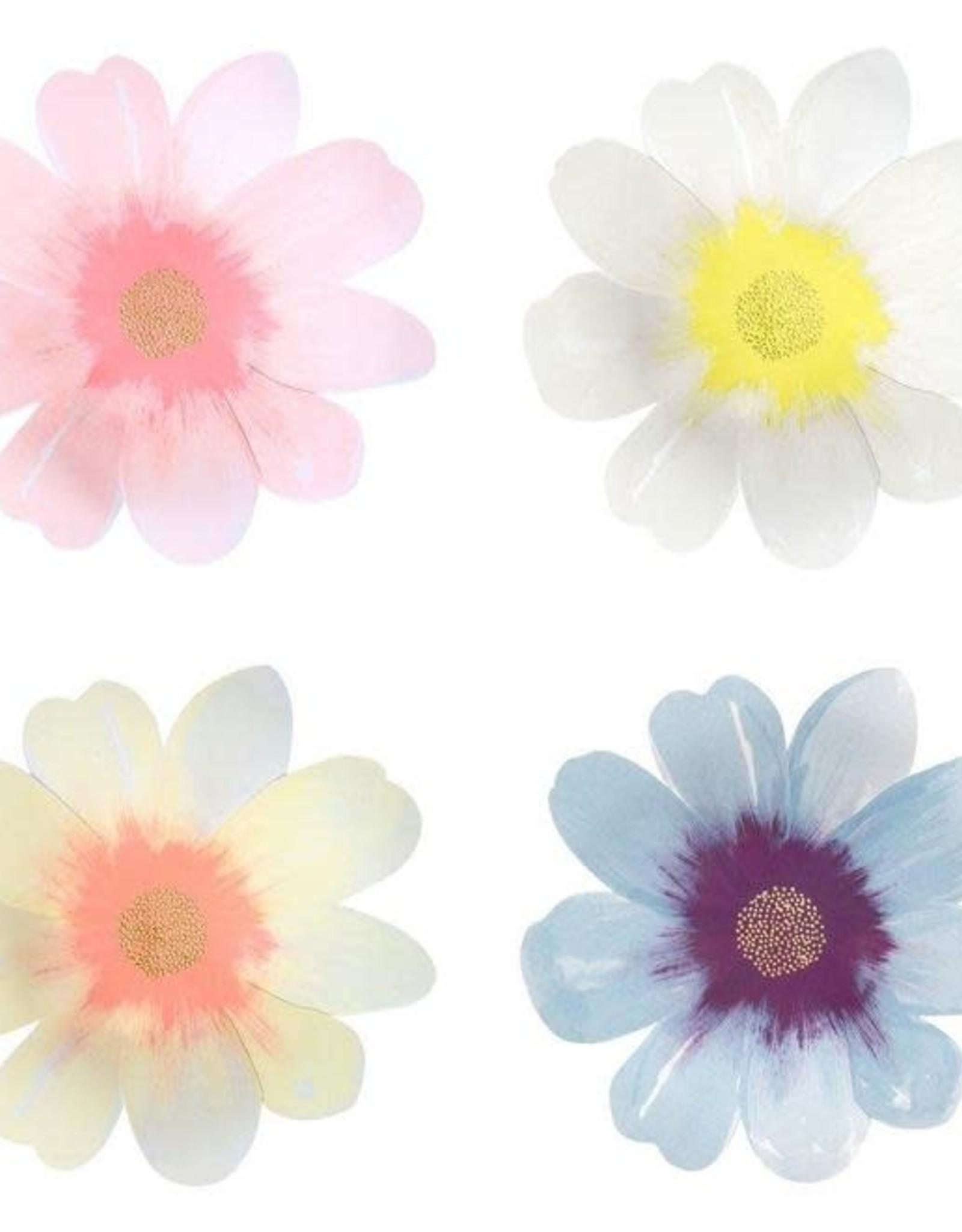 Meri Meri Meri Meri   Flower Garden Large Plates (set of 8)