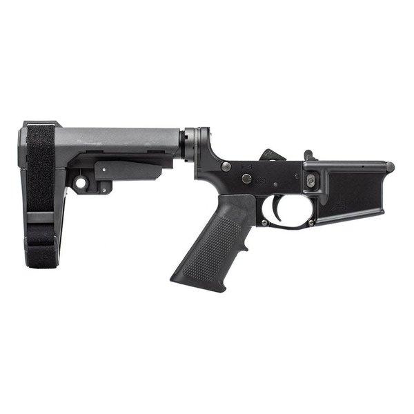 Aero Precision Aero Precision AR15 Pistol Complete Lower Receiver w/ MOE Grip & SBA3 Brace - Anodized/Black