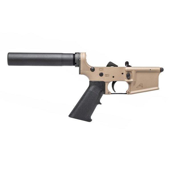 Aero Precision Aero Precision AR15 Pistol Complete Lower Receiver - FDE