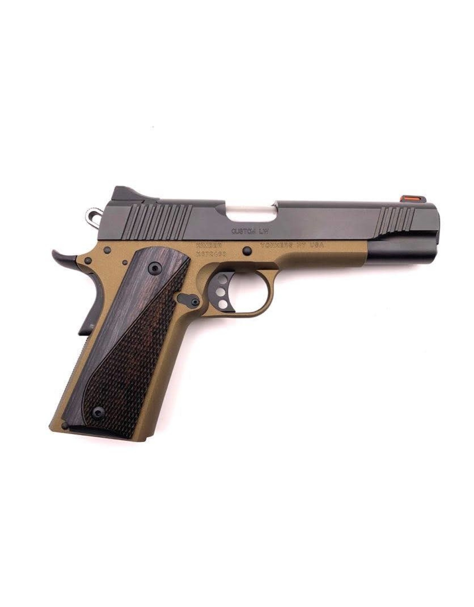 "Kimber Kimber 1911 Custom LW .45 ACP, 5"", Burnt Bronze/Black Two-Tone - Complete Pistol"