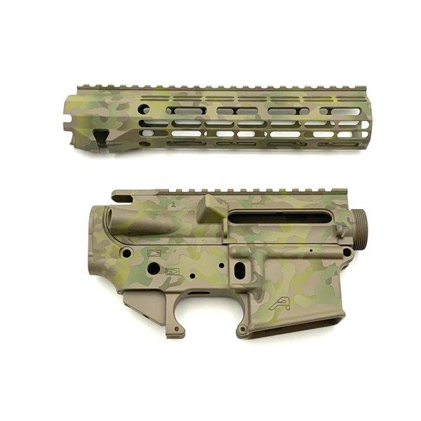 "Sam Diego Tactical AR15 Builder Set - Arid Multi-Cam - 9"" R-One M-Lok HG"