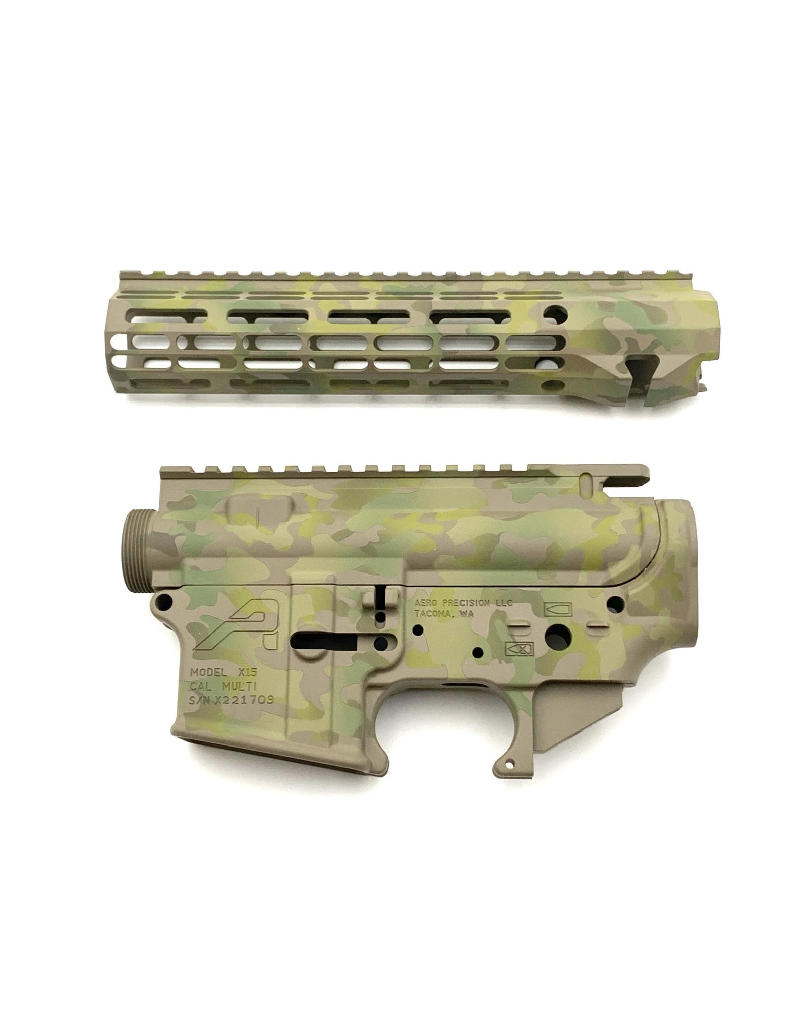 "Sam Diego Tactical AR15 Builder Set - Arid Multi-Cam - 9"" R-One M-Lok HG"