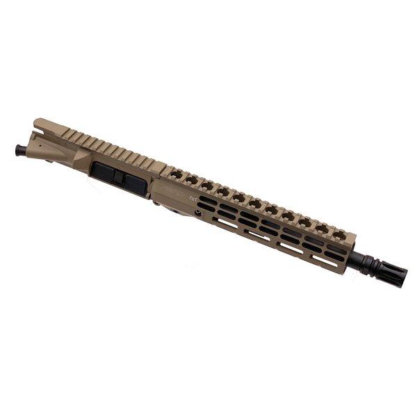 "Sam Diego Tactical 10.5"" 300 BLK Complete Upper - FDE Cerakote"