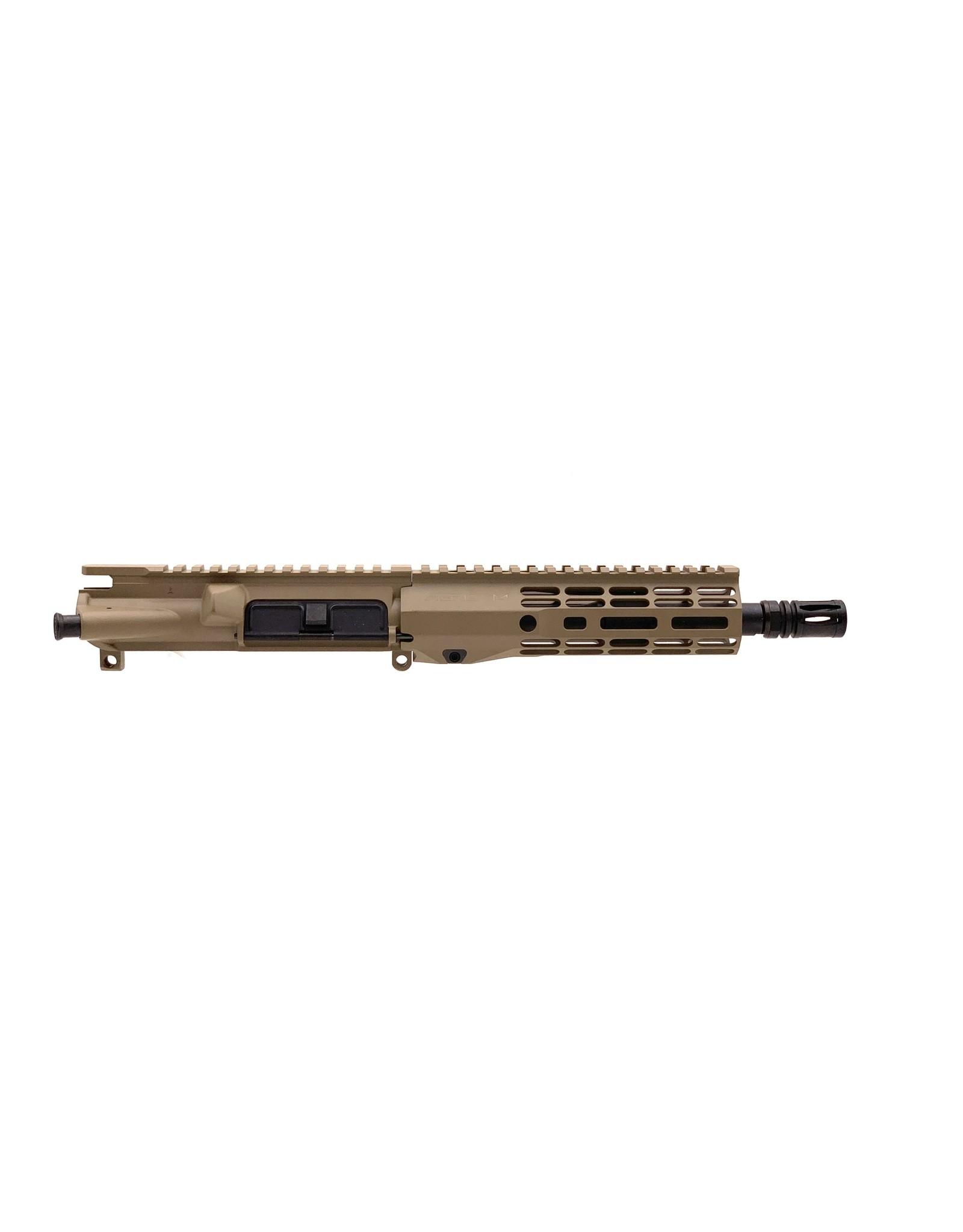 "Sam Diego Tactical 8.5"" 300 BLK Complete Upper - FDE Cerakote"