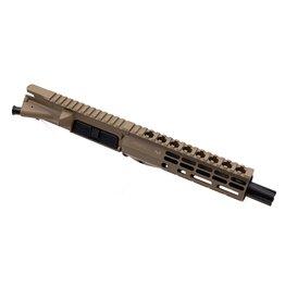 "Sam Diego Tactical 7.5"" 9mm Complete Upper - FDE Cerakote"
