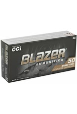 IN STORE ONLY - CCI Blazer Brass 9mm Luger Ammo 147 Grain Full Metal Jacket - 50 rnds