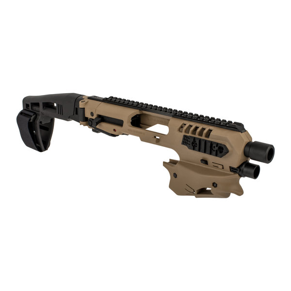 CAA CAA Micro Conversion Kit with Long Stabilizer for GLOCK - FDE