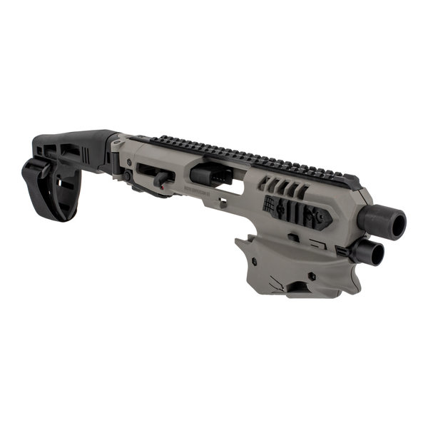 CAA CAA Micro Conversion Kit with Long Stabilizer for GLOCK - Tungsten Gray