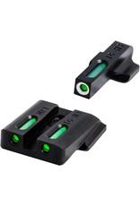 TruGlo TruGlo TFX Smith & Wesson (M&P/SD9/SD40), Tritium + Fiber Optic - Green/Green/White