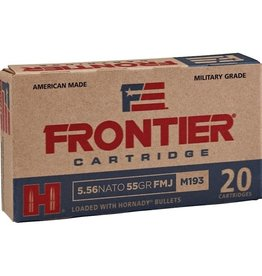 IN STORE ONLY - Frontier 5.56x45mm NATO Ammo XM193 55 Grain Full Metal Jacket - 20 rnd