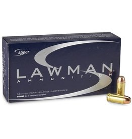 IN STORE ONLY - Speer Lawman 40 S&W Ammo 180 Grain Total Metal Jacket - 50 rnds