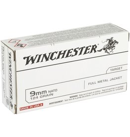 IN STORE ONLY - Winchester USA 9mm NATO 124 Grain Full Metal Jacket - 50 rnds
