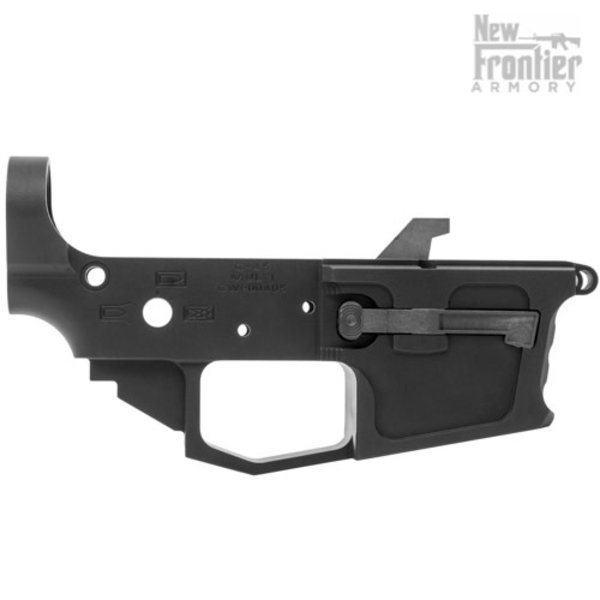 New Frontier Armory New Frontier C-45 Billet Lower - Anodized Black
