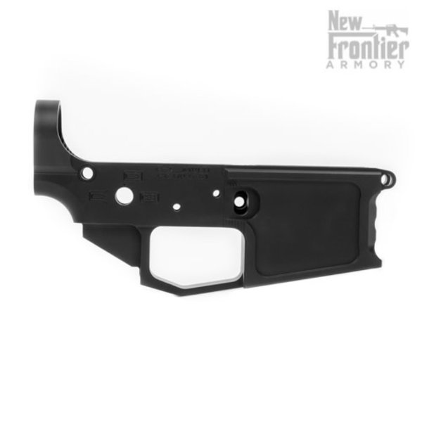 New Frontier Armory New Frontier C-4 Billet AR15 Stripped Lower Receiver - Anodized Black