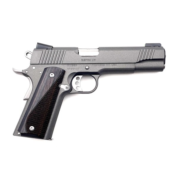 "Kimber Kimber 1911 Custom LW 9mm, 5"" w/TFO Night Sights - Tungsten Cerakote"