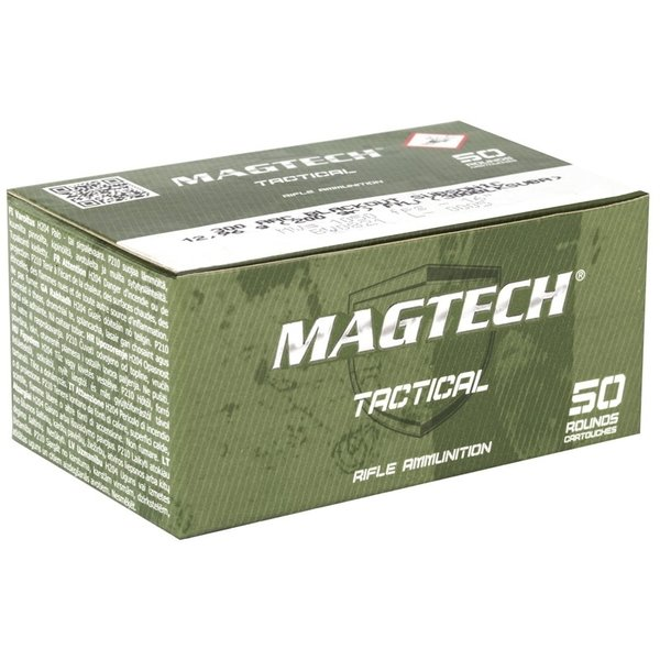 IN STORE ONLY - Magtech 300 AAC Blackout Ammo 200 Grain Subsonic Full Metal Jacket - 50 rnd