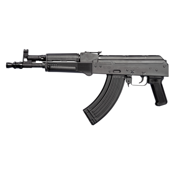 """Pioneer Arms Corp Pioneer Arms Hellpup  AK Style Pistol, 11.7"""", 7.62x39 w/4 mags - Black"""