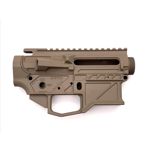 ATX Armory Adonis AR15 Billet Receiver Set - FDE