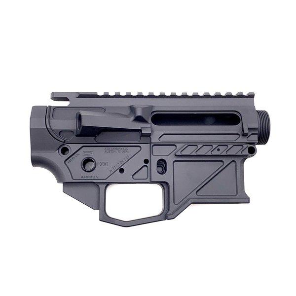 ATX Armory Adonis AR15 Billet Receiver Set - Graphite Black
