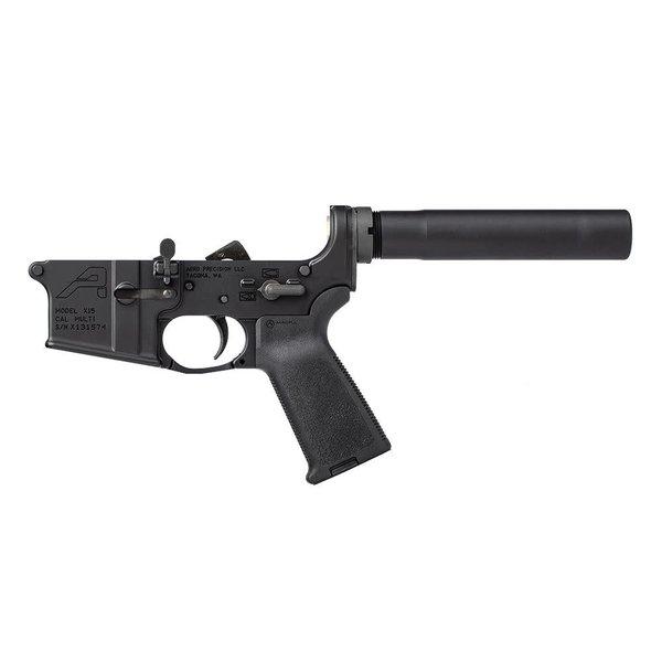 Aero Precision Aero Precision AR15 Pistol Complete Lower Receiver w/MOE Grip - Anodized Black