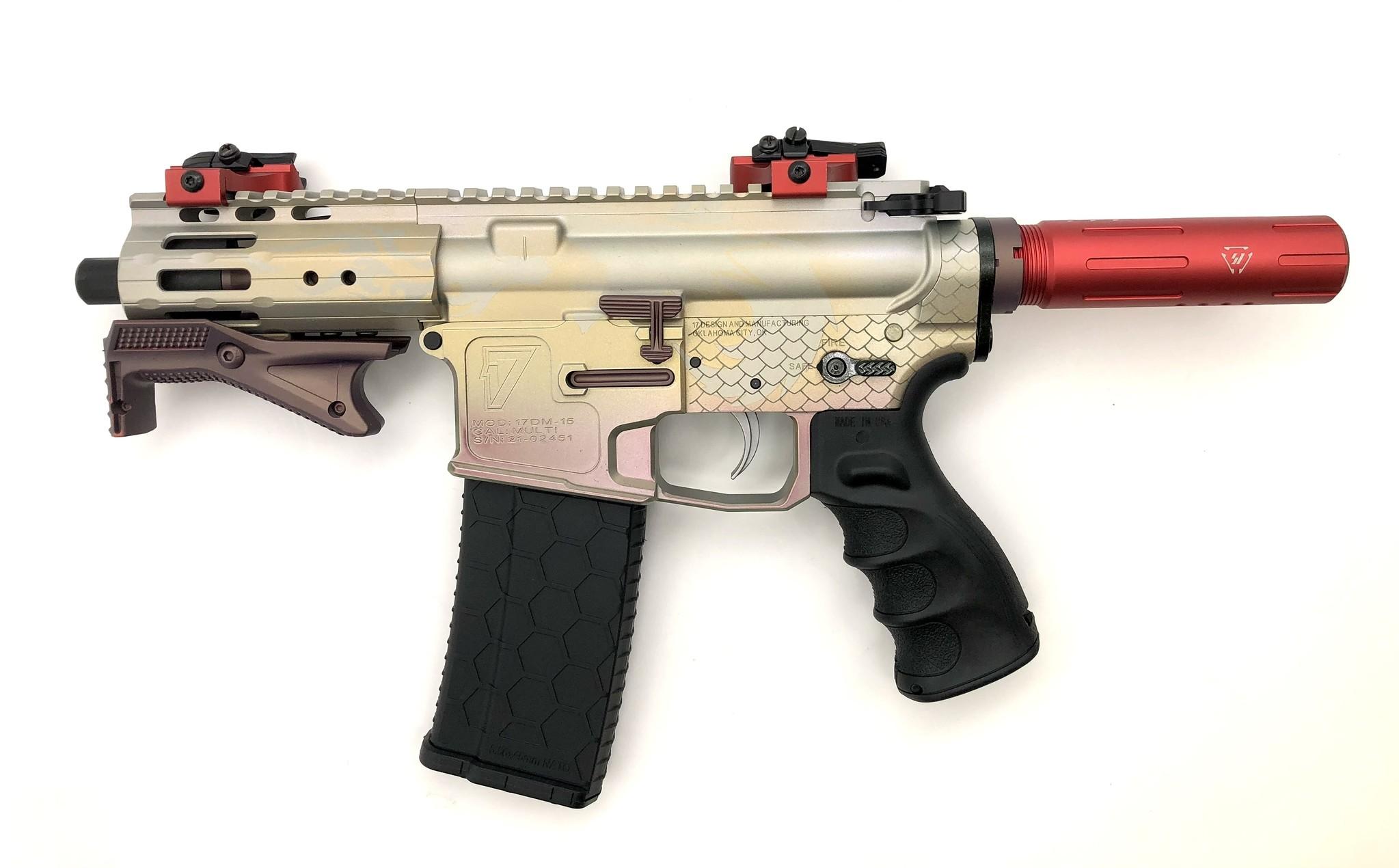 "4.75"" Sam Diego AR15 Privateer Pistol_Dragon"