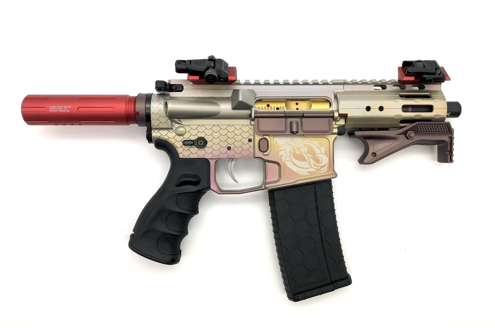 "4.75"" Sam Diego AR15 Privateer Pistol_Dragon 2"