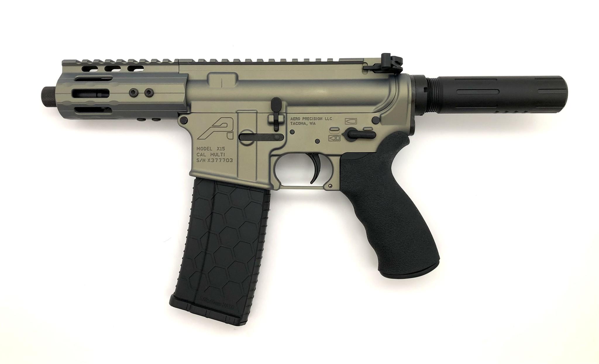 "4.75"" Sam Diego AR15 Privateer Pistol_Iridium 2"