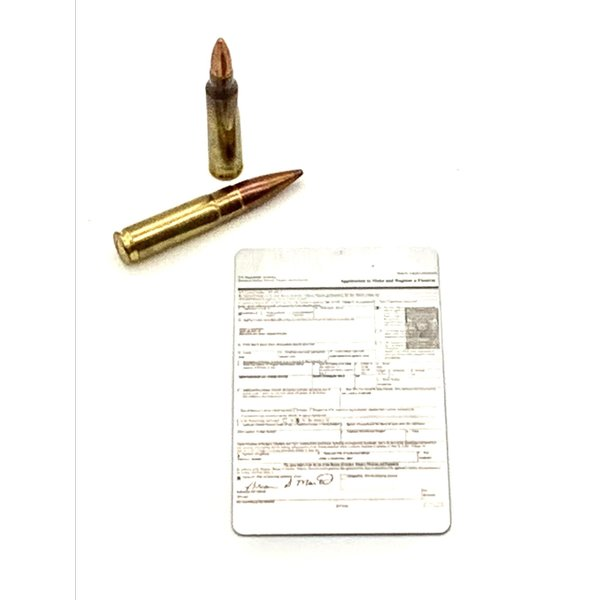 Micro-Print NFA Form