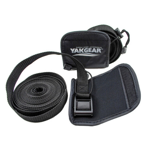 Yak Gear TIE DOWN STRAPS WITH COVER (2 PER PACK)