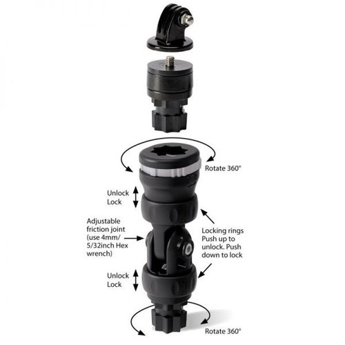 Railblaza Camera Mount R-Lock Kit 02-4130-11