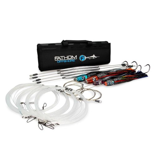 Fathom Offshore WAHOO PRE-RIGGED TROLLING LURE PACK