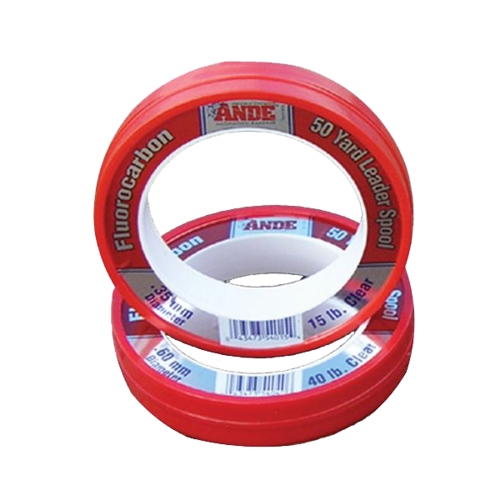 Ande Fluorocarbon Leader 50 YD (Clear)