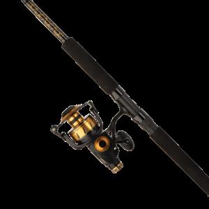 Penn SSVI6500102H Spinfisher VI 6500 combo, 2 pc Surf Rod
