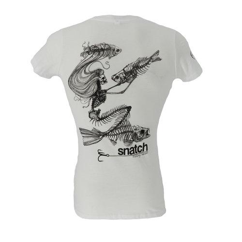 Snatch Skeleton Mermaid T-Shirt