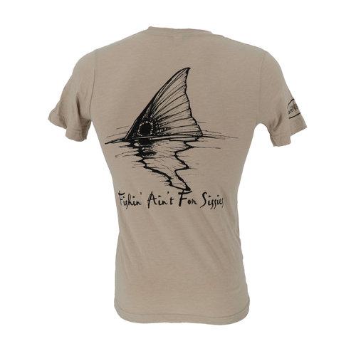 Fishing Ain't For Sissies Redfish Tail T-Shirt - Men's