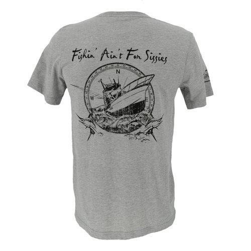 Fishing Ain't For Sissies Sportfish T-Shirt - Men's