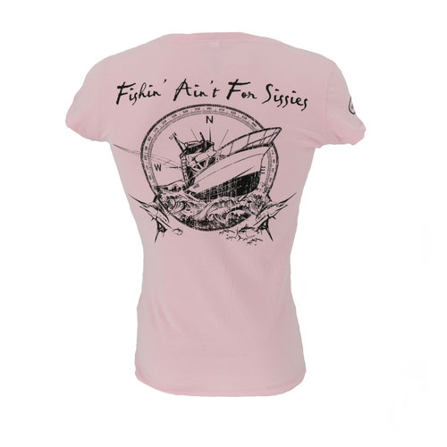Fishing Ain't For Sissies Sportfish T-Shirt - Women's