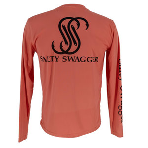 Salty Swagger Solid Performance Long Sleeve