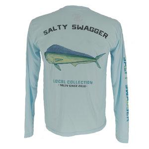 Salty Swagger Mahi Performance Long Sleeve Shirt