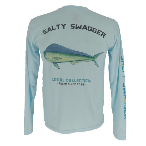 Salty Swagger Mahi Performance Long Sleeve Shirt