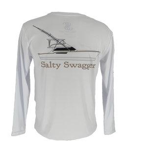 Salty Swagger Sportfish Performance Long Sleeve Shirt