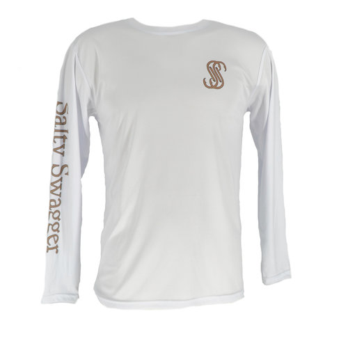 Salty Swagger Sportfish Performance Long Sleeve Shirt