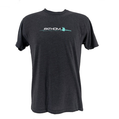 Fathom Offshore Flare T-Shirt / Charcoal Heather