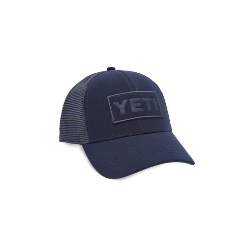 Yeti Navy on Navy Patch Trucker Hat
