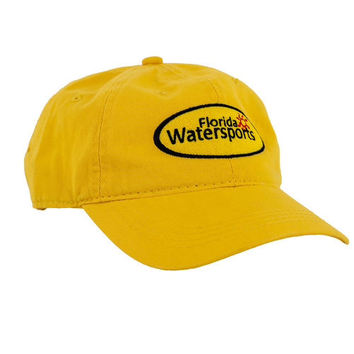 Florida Water Sports FWS Hat Yellow on Yellow