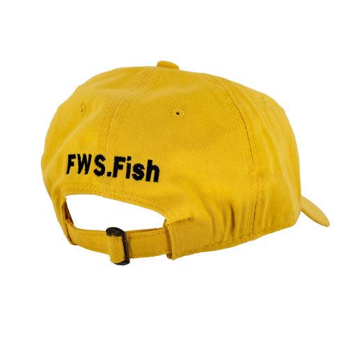 Florida Water Sports FWS Hat Yellow on Yellow