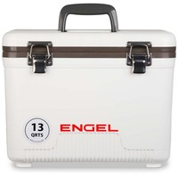 13 quart leak-proof air-tight storage drybox, cooler and lunch box