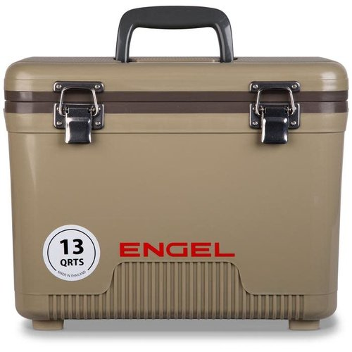 Engel 13 quart leak-proof air-tight storage drybox, cooler and lunch box