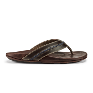 Olukai Mea Ola Men's Leather Beach Sandals