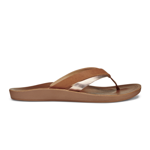 Olukai Kaekae Women's Leather Beach Sandals